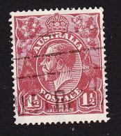 Australia, Scott #63, Used, King George V, Issued 1918 - 1913-36 George V: Heads