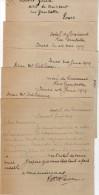 VP3598 - Tabac - Lot Divers Documents - Lettre De Mr GREEN à L´Hotel Du Croissant à PARIS & Dessins - Documents