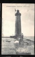 Les Sables D'Olonne - En Pleine Mer - Le Phare Des Barges  Har34 - Sables D'Olonne