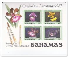 Bahamas 1987, Postfris MNH, Flowers, Orchids, Christmas - Bahama's (1973-...)