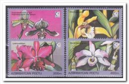 Azerbeidzjan 1995, Postfris MNH, Flowers, Orchids - Azerbeidzjan