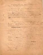 VP3599 -  Tabac - Note De Mr Th. SCHLOESING à PARIS - Dokumente