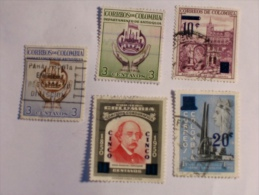 COLOMBIE - COLOMBIA  1958-9    LOT# 24 - Colombie