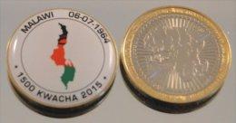 Malawi 2015 Bimetal Couleurs Drapeau - Malawi