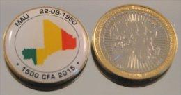 Mali 2015 Bimetal Couleurs Drapeau - Mali (1962-1984)