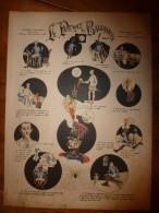 V. 1892 IMAGE D'EPINAL :n°126 LE PLUMET DE BALDAQUIN : Histoires & Scènes Humoristiques, Contes Moraux & Merveilleux - Vieux Papiers