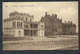 CPA - DE PANNE - La Digue  - Les Villas Royales - Nels Série 9  N° 19   // - De Panne