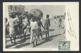 CPA - Afrique - DJIBOUTI - Scène D'un Mariage Somalis - Transport De La Dot - Ed. Arabiantz // - Djibouti