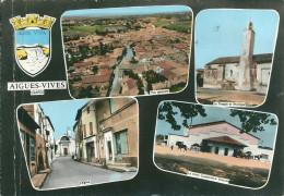 30 AIGUES VIVES GARD CAVE COOPERATIVE TEMPLE RUE GARD - Aigues-Vives
