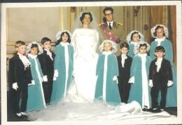 ! - Belgique - Mariage Du Roi Baudouin Et De Dona Fabiola De Mora Y De Aragon Le 15-12-1960 - Familles Royales