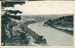 BELGIQUE MARCHE LES DAMES / Panorama De La Vallée De La Meuse Vers Namèche-Samson Pris Du Pic D'emphar / - Belgique
