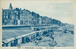 BELGIQUE MIDDELKERKE / La Plage / - Middelkerke