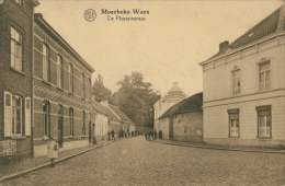 BELGIQUE MOERBEKE WAAS / De Plezantstraat / - Moerbeke-Waas
