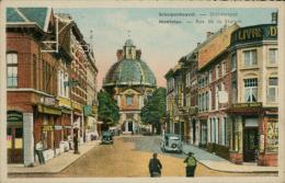 BELGIQUE MONTAIGU / Rue De La Station / CARTE COULEUR - België