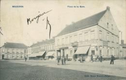 BELGIQUE MOUSCRON / Place De La Gare / - Mouscron - Moeskroen