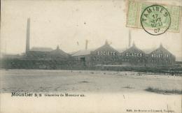 BELGIQUE MOUSTIER SUR SAMBRE / Glaceries De Mousiter Sur Sambre / - Belgique