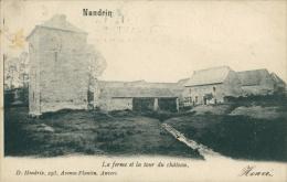 BELGIQUE NANDRIN / La Ferme Et La Tour Du Château / - Nandrin