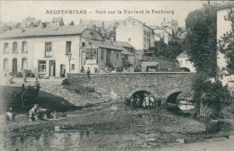 BELGIQUE NEUFCHATEAU / Pont Sur La Vierre Et Le Faubourg / - Neufchâteau