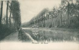 BELGIQUE PERUWELZ / Le Canal / - Péruwelz