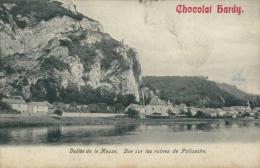 BELGIQUE POILVACHE / Vallée De La Meuse, Vue Sur Les Ruines De Poilvache / - Belgique
