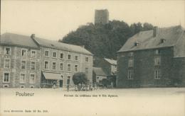BELGIQUE POULSEUR / Ruines Du Château Des Quatre Aymon / - Belgique