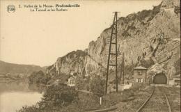 BELGIQUE PROFONDEVILLE / Vallée De La Meuse, Le Tunnel Et Les Rochers / - Profondeville