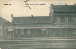 BELGIQUE RAMILLIES / La Station Et Le Restaurant Huvenne / - Ramillies