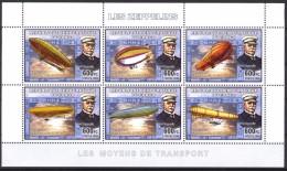 R. D. Du Congo 2006 - Zeppelins - BF 6 Val ** Neufs // Mnh - République Démocratique Du Congo (1997 -...)