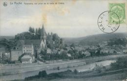 BELGIQUE LA ROCHE / Panorama, Vue Prise De La Route Du Châlet / - La-Roche-en-Ardenne