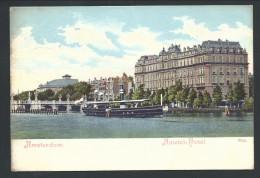 CPA - Pays Bas - AMSTERDAM - Amstel Hôtel   // - Amsterdam