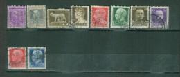 Italie Liquidation Lot 2 Yt 207 à 239 Oblitérés - 1900-44 Vittorio Emanuele III