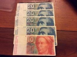 Lot 90 Francs Suisse - Suisse