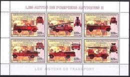 R. D. Du Congo 2006 - Véhicules Pompiers Antiques II - BF 6 Val ** Neufs // Mnh - République Démocratique Du Congo (1997 -...)