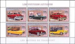 R. D. Du Congo 2006 - Voitures Antiques - BF 6 Val ** Neufs // Mnh - République Démocratique Du Congo (1997 -...)