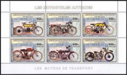R. D. Du Congo 2006 - Motocycles Antiques - BF 6 Val ** Neufs // Mnh - République Démocratique Du Congo (1997 -...)