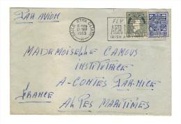 Enveloppe De Dublin, Baile Atha Cliath, Eire, Irlande, Aer-Phost, 1953 (16-690) - Airmail