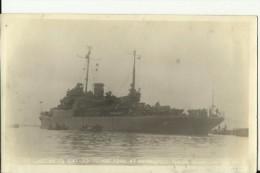 CHINA   --  SHANGHAI  - ORIGINAL - USA WARSHIP  ,, USS GARDINERS BAY  AVP - 39 ,,  1946 IN SHANGHAI  --   15 Cm X 9,4 Cm - Boats