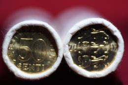 Estonia 50 Senti 2007 Bank Roll UNC - Estonie