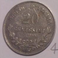 Italy 20 Cent 1863 M #4 - 1861-1946 : Kingdom