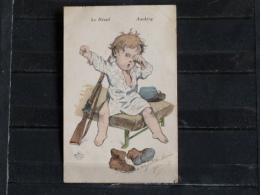 F02 - Carte Illustré - Petit Poilu - Edition Aux Alliés - Le Réveil - Awaiking - 1916 - Guerre 1914-18