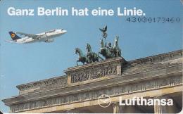 GERMANY(chip) - Lufthansa(K 950), Tirage 5000, 03/93, Used - Vliegtuigen