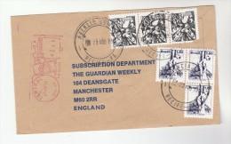 1978 BRAZIL COVER Franked STAMPS & METER To GB - Brazilië
