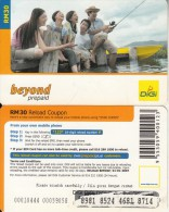 MALAYSIA - People, Beyond By Digi Prepaid Card RM30, Exp.date 01/01/07, Used - Malaysia