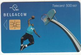 BELGIUM - Basketball, Exp. Date 31/07/02, Used - Belgio