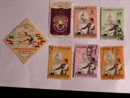 COLOMBIE - COLOMBIA  1962-4    LOT# 30 - Colombie