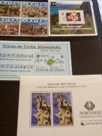 Miniature Sheets Dominica, Tristan Da Cunha, Korea - Stamps