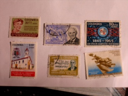 COLOMBIE - COLOMBIA  1963-5    LOT# 31 - Colombie