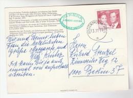 1976 SWEDEN Stamps  COVER (card) ´STOCKHOLM PFA IN BERLIN ´ Germany - Sweden