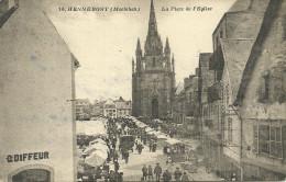 HENNEBONT - La Place De L'église                  -- VNozais 16 - Hennebont