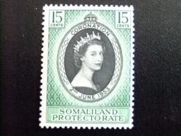 SOMALILAND 1953 CORONATION Yvert Nº 119 * - SG Nº 136 * MH - Somaliland (Protectorat ...-1959)